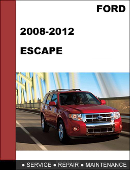 chilton repair manual 2008 ford escape