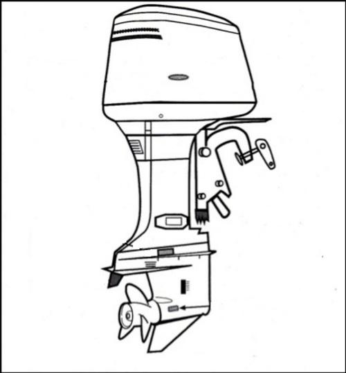 inboard outboard engine diagram outboard motor