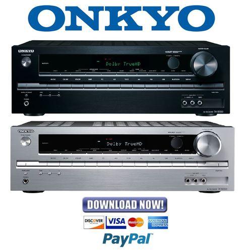 onkyo tx sr333 service manual and repair guide