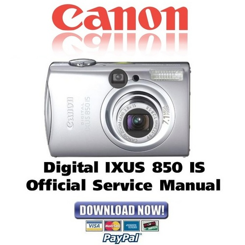 canon ixus 95 is manual download