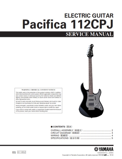 Yamaha Pacifica Pickup Wiring Diagram - Carbonvotemuditblog \u2022