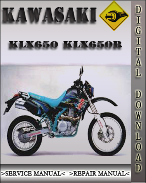 1993 Kawasaki KLX650 KLX650R Factory Service Repair Manual - Downlo