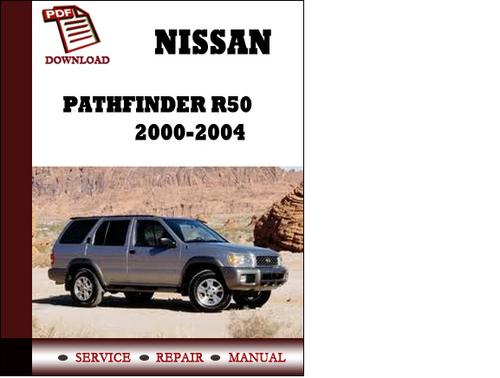 2002 pathfinder r50 service and repair manual
