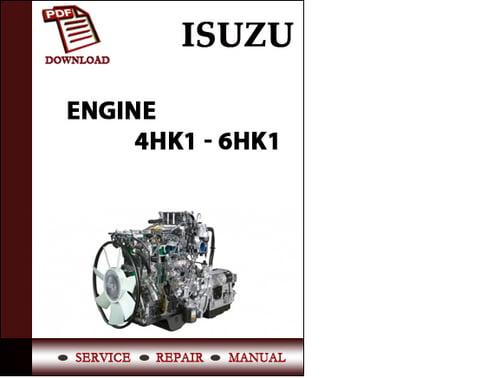 Isuzu 4hk1 Engine Wiring Diagram Electronic Schematics collections