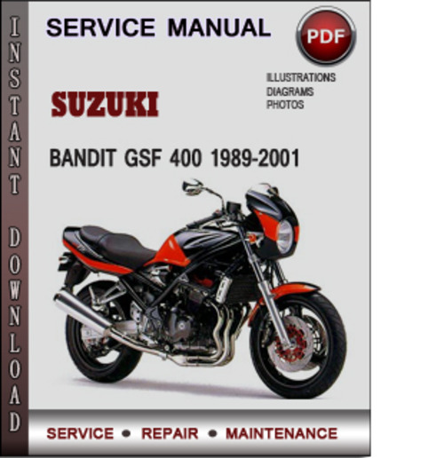 Suzuki Bandit GSF 400 1989-2001 Factory Service Repair Manual Downl