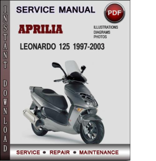 Aprilia Leonardo 125 1997-2003 Factory Service Repair Manual Downlo