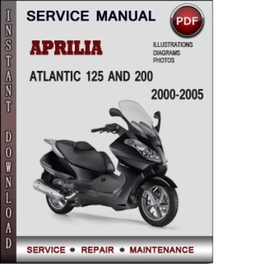 aprilia atlantic service manual
