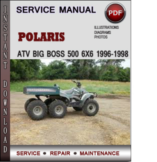 Polaris Big Boss 6x6 Wiring Diagram - Njawwajwiitimmarshallinfo \u2022