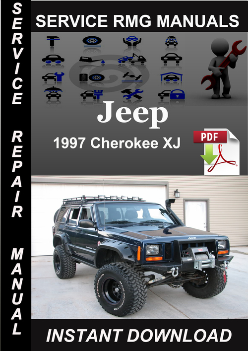 jeep cherokee xj 1997 complete factory service repair workshop manual