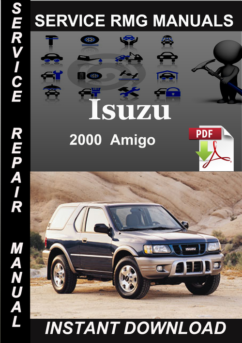 isuzu rodeo rodeo sport workshop manual 1999 onwards
