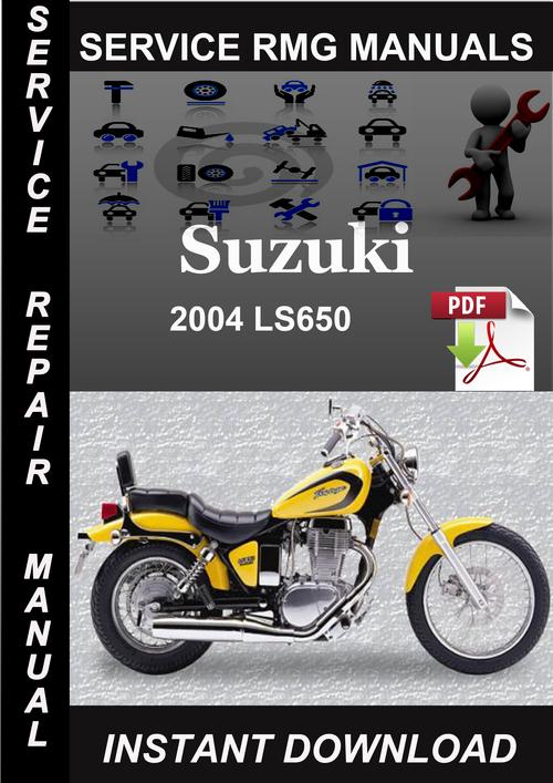 suzuki ls650 savage 1988 2004 workshop manual download