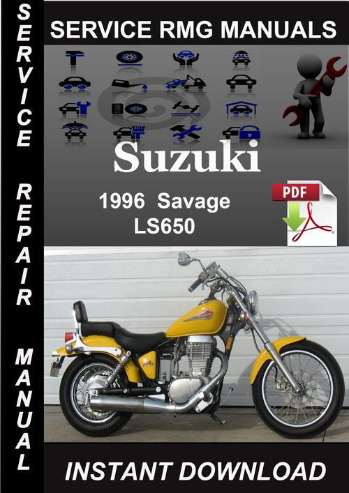 1996 Suzuki Savage LS650 Service Repair Manual Download - Download