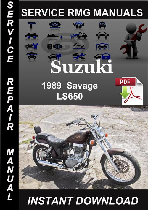 1989 Suzuki Savage LS650 Service Repair Manual Download - Download