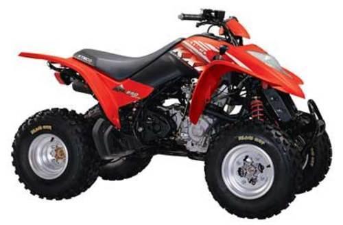 Kymco Mongoose, KXR 250 ATV Workshop Service Repair Manual 2003-200