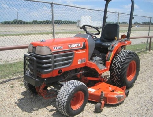 Kubota B2100E Tractor Illustrated Master Parts List Manual DOWNLOAD