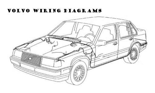 1999 2000 volvo c70 s70 v70 wiring diagrams