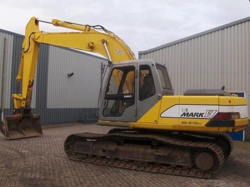 Kobelco SK210 MARKIV, SK210LC MARKIV Hydraulic Excavator Parts Manu