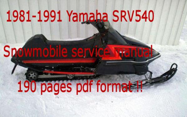 Yamaha Srv Wiring Diagram Wiring Diagram