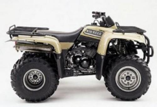 Yamaha YFM400 Bigbear Kodiak 400 YFM400FWA - Download Manuals