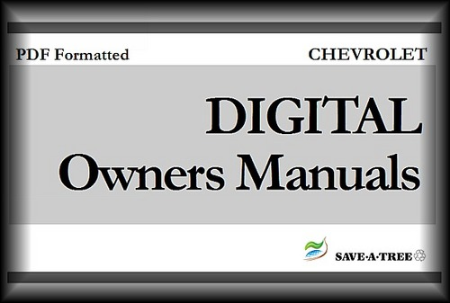 2001 CHEVY / CHEVROLET Impala Owners Manual - Download Manuals am