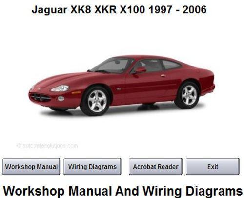 JAGUAR XK8 XKR 1997 - 2006 WORKSHOP SERVICE REPAIR MANUAL - - Down