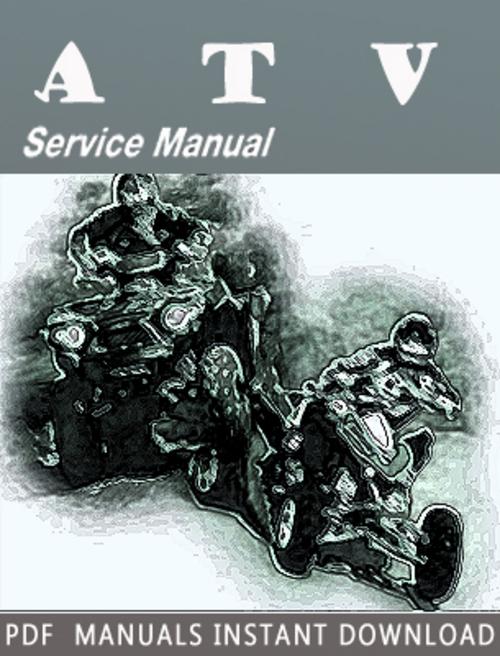2008 Arctic Cat ATV Service Repair Manual Download - Download Manua