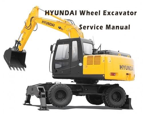 hyundai wheel excavator r200w 7a service repair manual