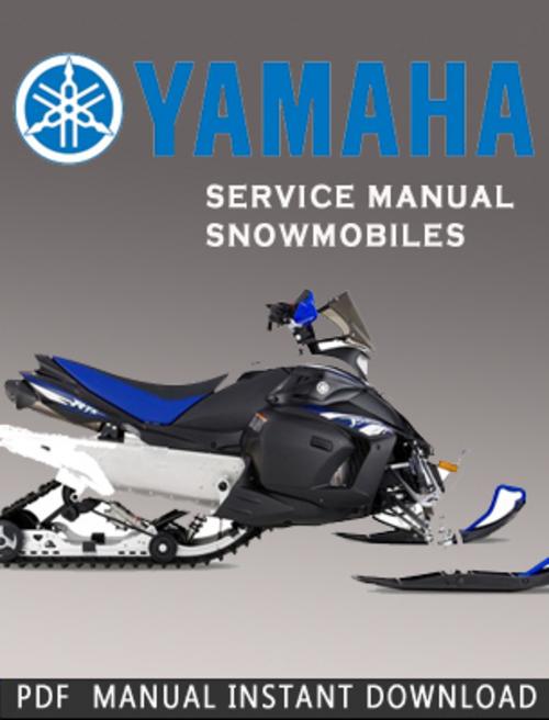 2000-2002 Yamaha SRX700D SRX700SD SRX700G SRX700SG Snowmobile Servi