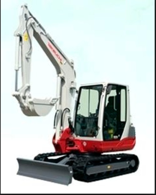 takeuchi tb235 mini excavator parts manual download