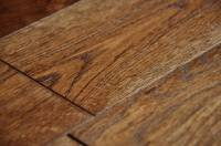 Brushed Smoked Coffee 18x125mm - Real & Natural Solid Wood ...