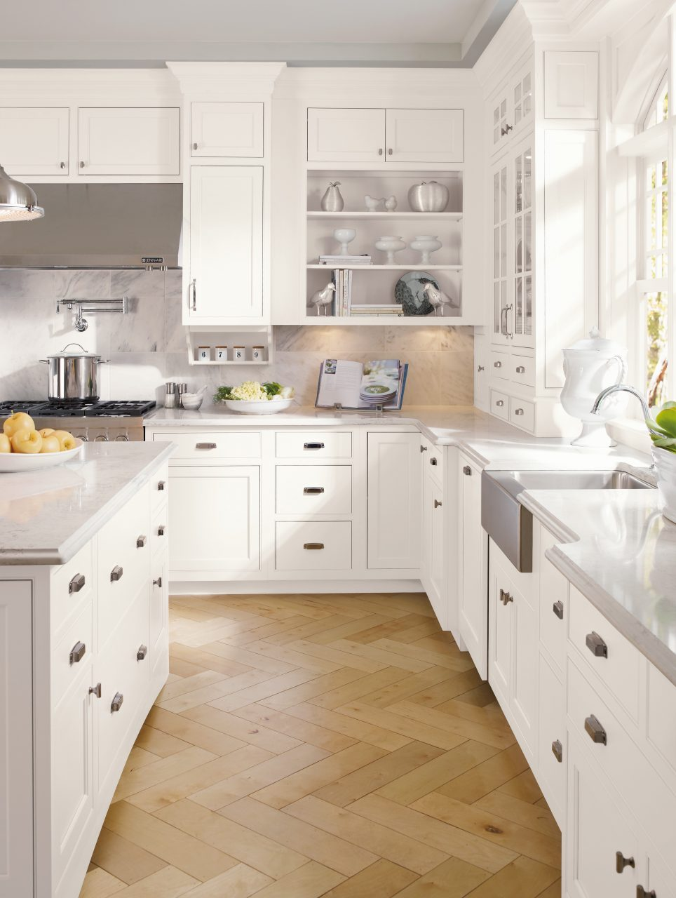 white kitchen cabinets kitchen cabinets nj White Custom Kitchen Cabinets in New Jersey