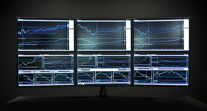 Trading Computers - Multiple Monitor Arrays - multi screen display