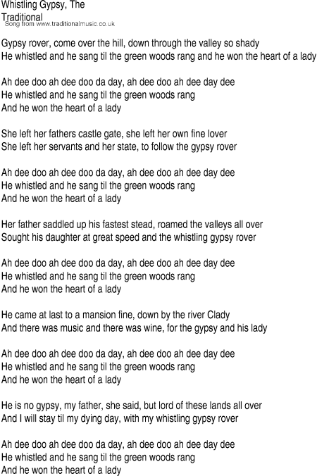 Woods Song Lyrics