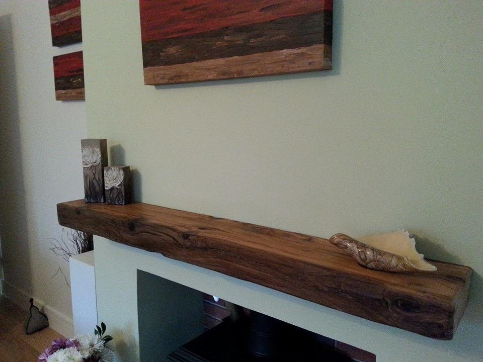 Oak Fireplace Beams Mantels Reclaimed Wood Shelves