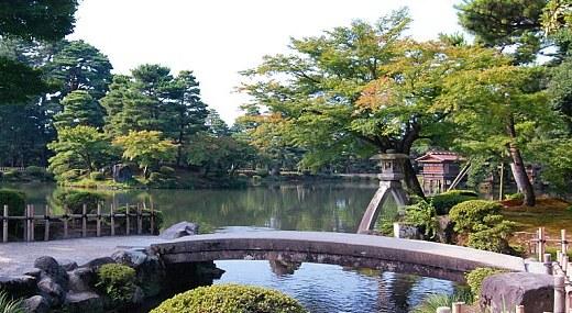 Il giardino Kenrokuen - Kanazawa
