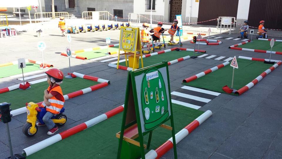 Circuito Vial : La seguridad vial un juguete tráfico y tránsito