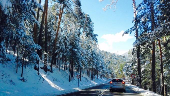 Seguridad vial en temporada de invierno