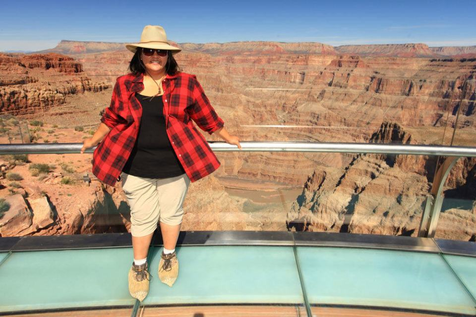 Anne on the Skywalk