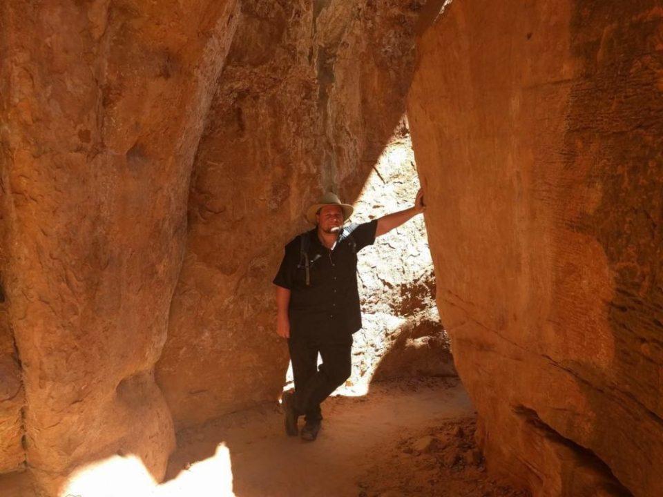 Hitch on the Kayenta Trail