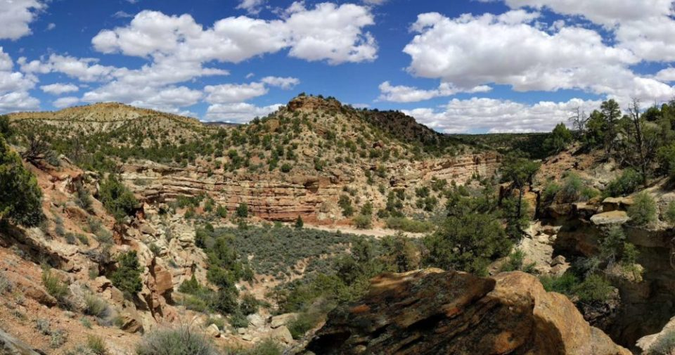 View from Sleeping Rainbow Trail