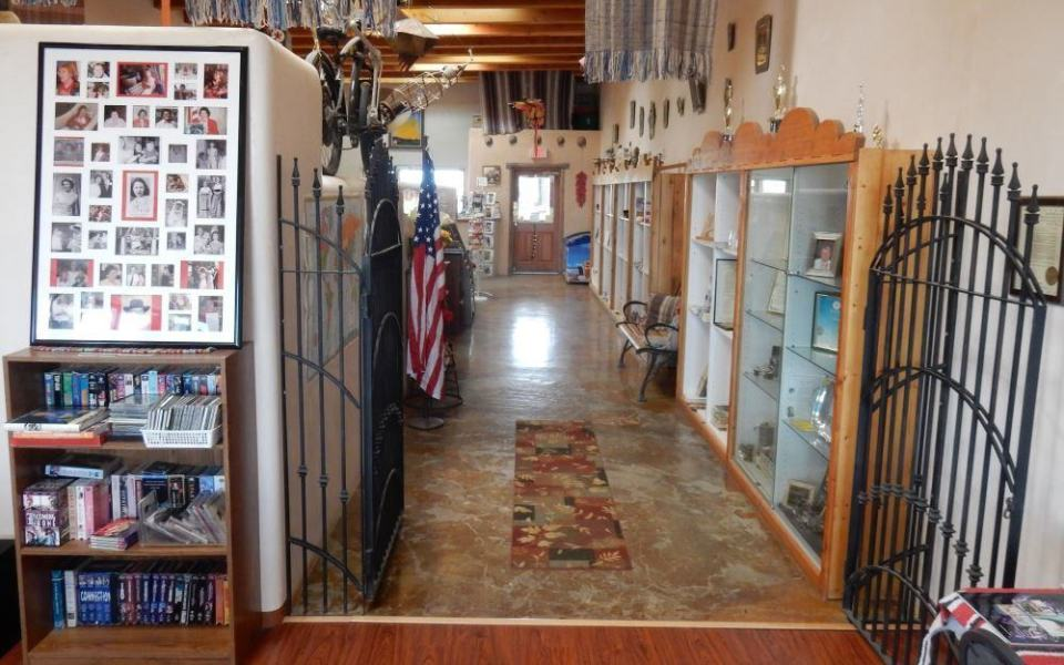 This is the park office, chock full of interesting stuff like so much of this RV park.