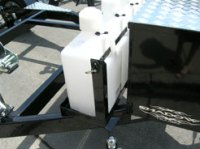 2 Can Gas Can Rack for Boat, Jet Ski, Motorcycle and ...