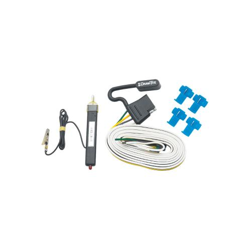 02-03 Dodge Ram 1500 Trailer Wiring Light Kit Harness Kit Plug (Splice)