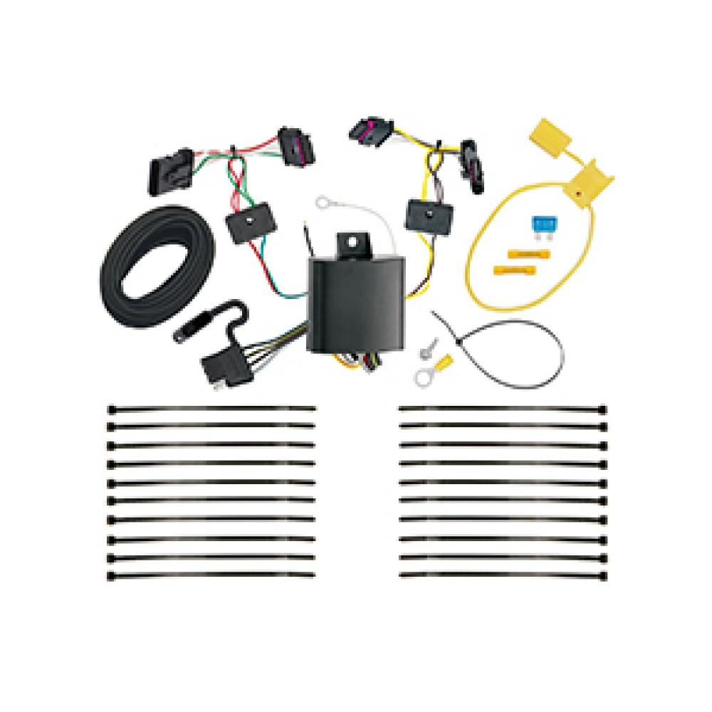 vehicle wiring harness for trailer lights