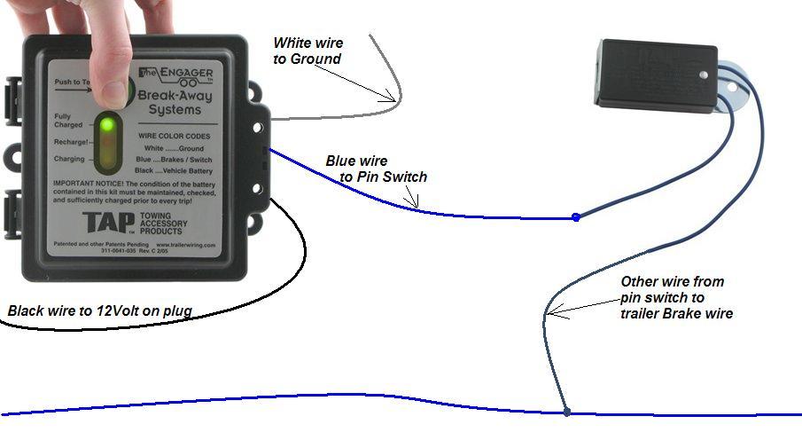 12 volt battery wiring diagram breakaway Find image