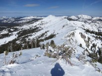 Basin peak from Castle Peak