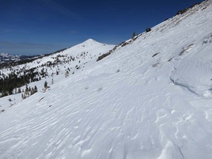 Basin Peak from Ridge