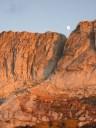 Moonrise over Mount Hoffmann