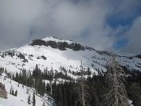Castle Peak From Trail