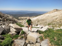 Lance Climbing